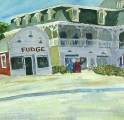 Fudge/Water Street Watercolor